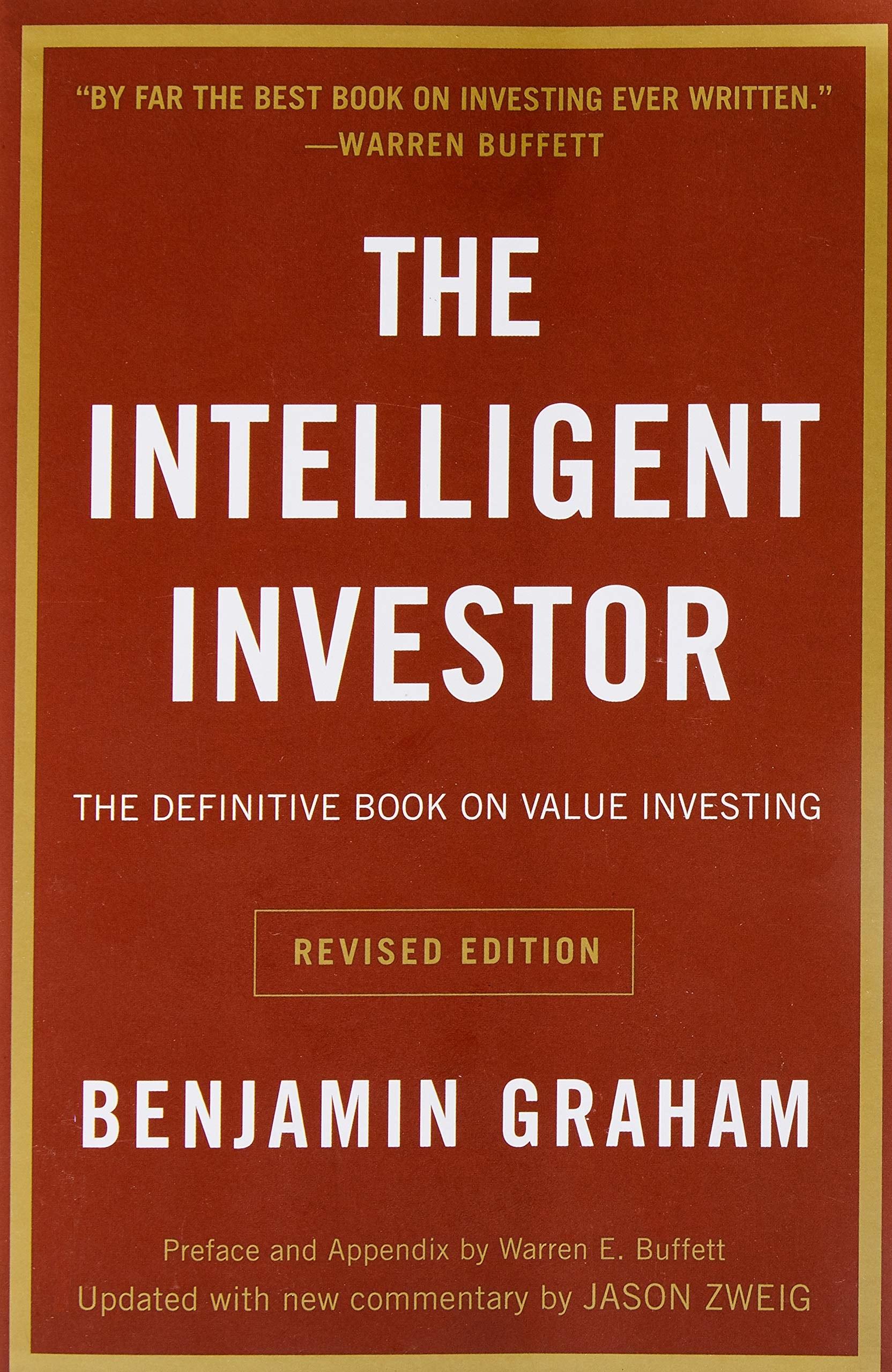 """""""By far the best book on investing ever written."""" —Warren Buffet"""