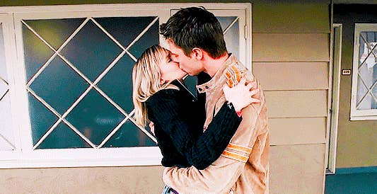 """Logan and Veronica from """"Veronica Mars"""""""