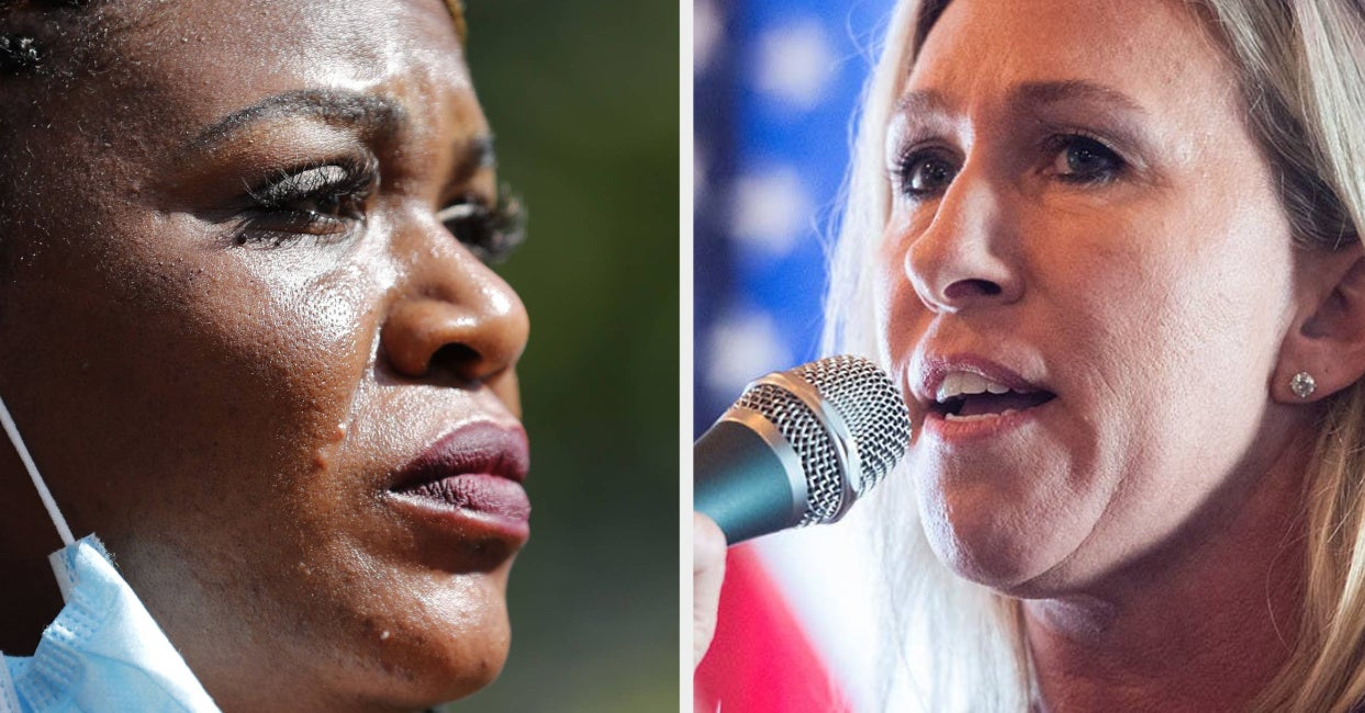 """Rep. Cori Bush Said She's Moving Offices After Marjorie Taylor Greene """"Berated"""" Her In Congress"""
