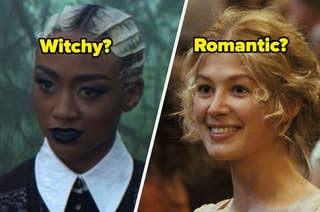 Prudence from CAOS; Jane from Pride & Prejudice