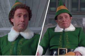 Buddy and Papa Elf in Elf