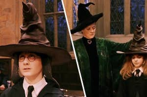 Harry Potter sorting hat ceremony