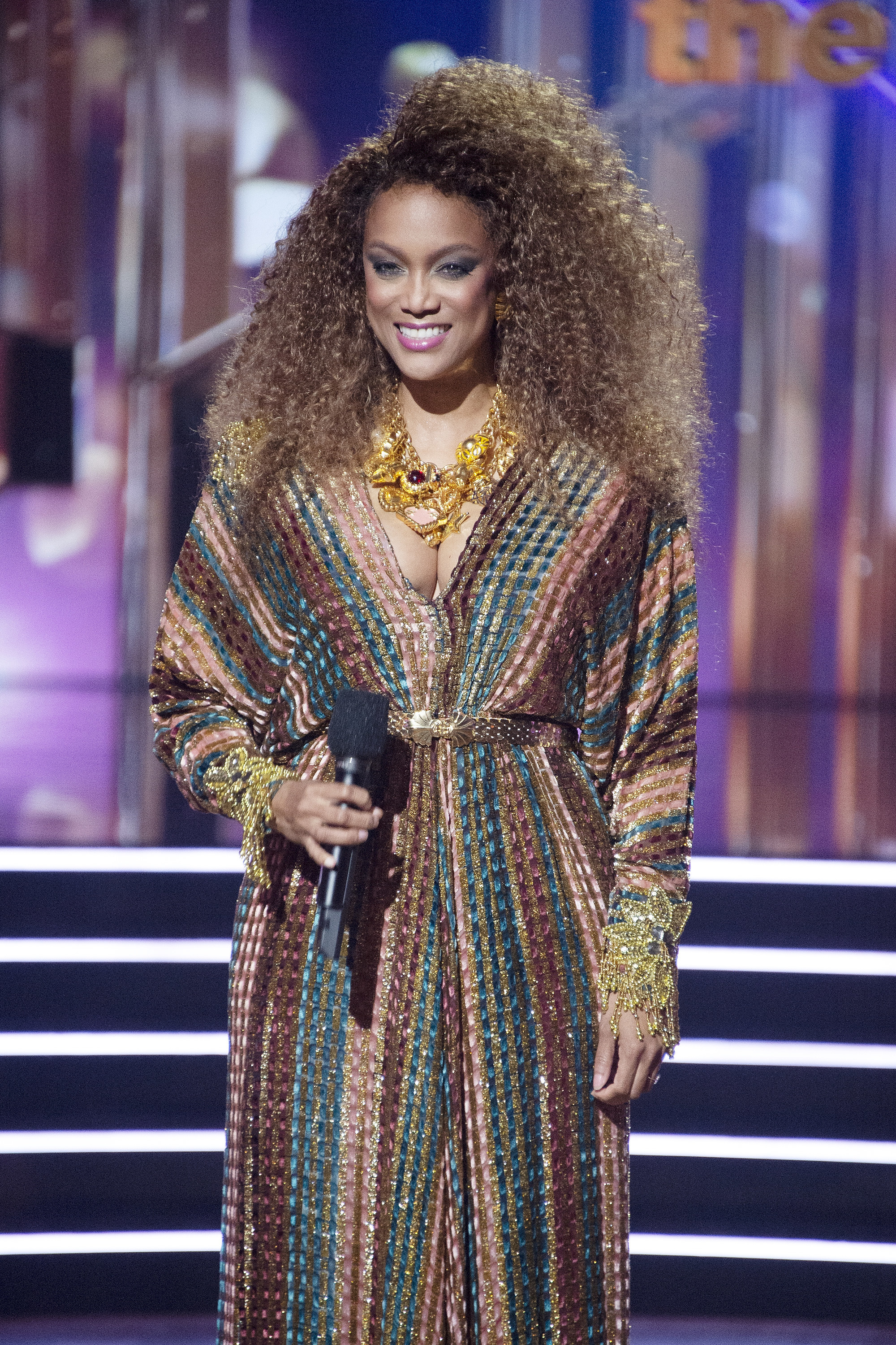 Tyra on Dancing with the Stars