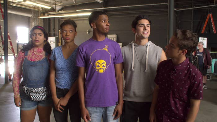 The cast of On My Block