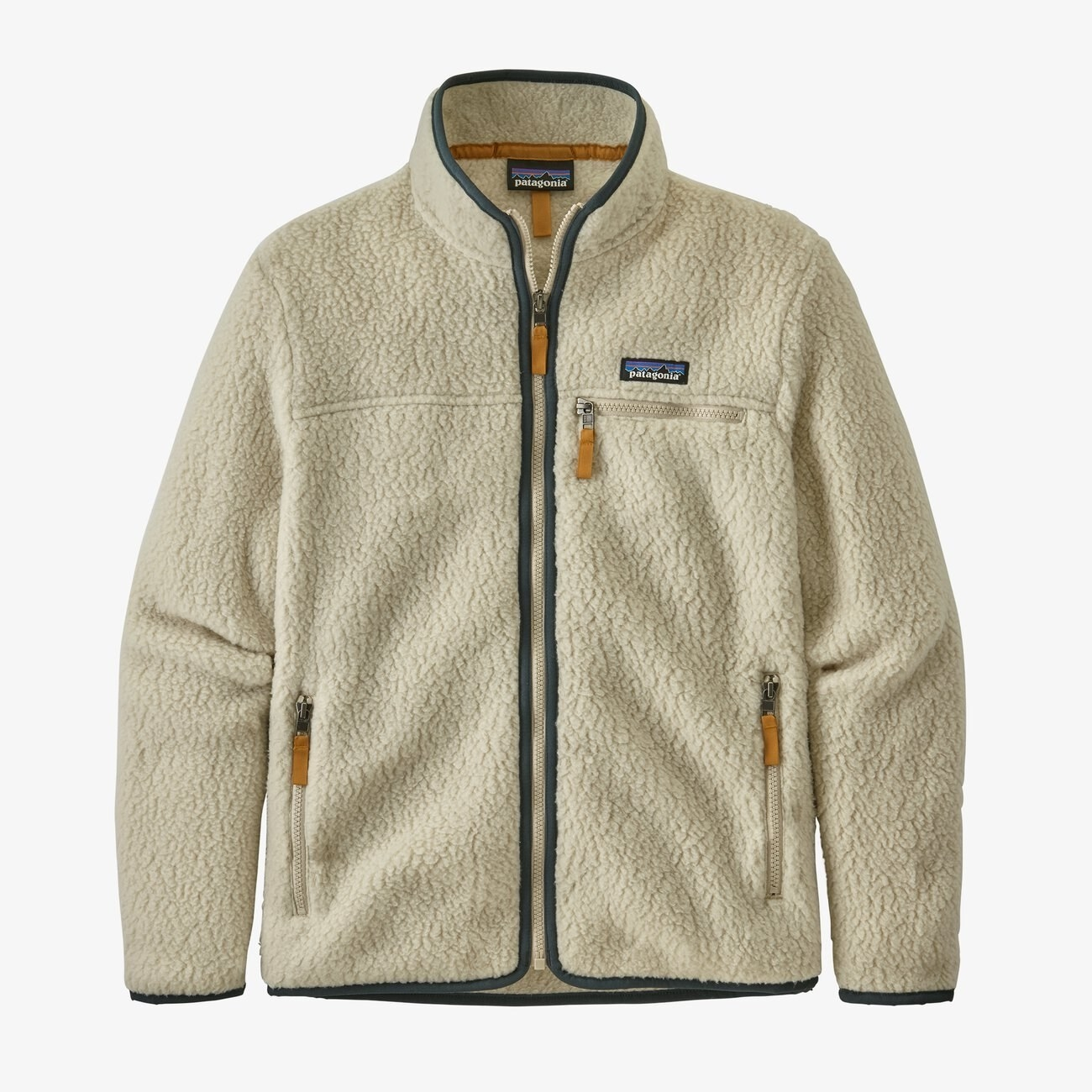 The retro fleece jacket in pelican