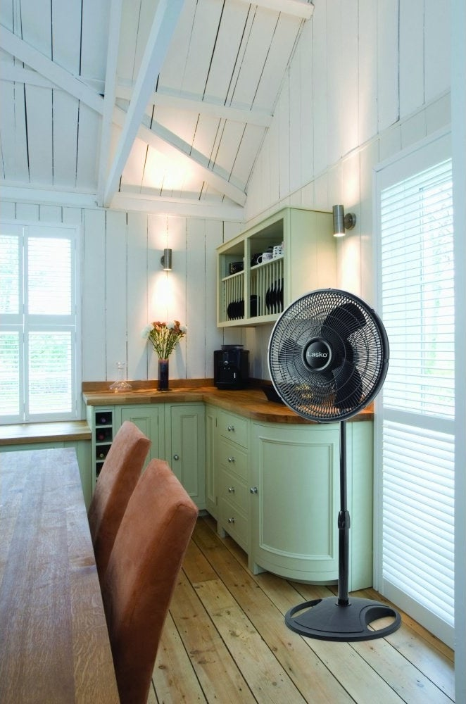 The fan in a kitchen