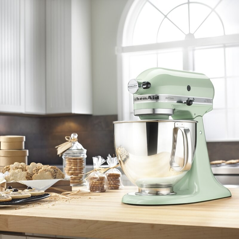 The KitchenAid stand mixer