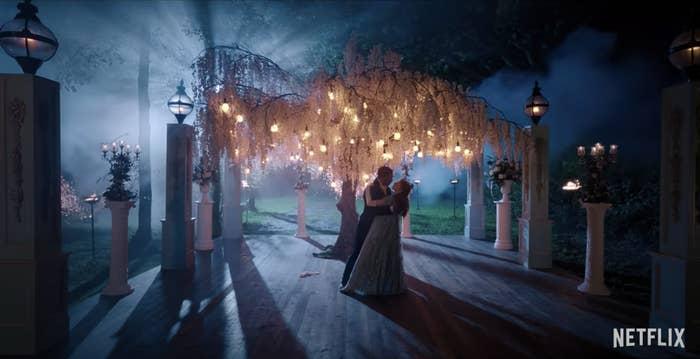 Simon and Daphne dancing