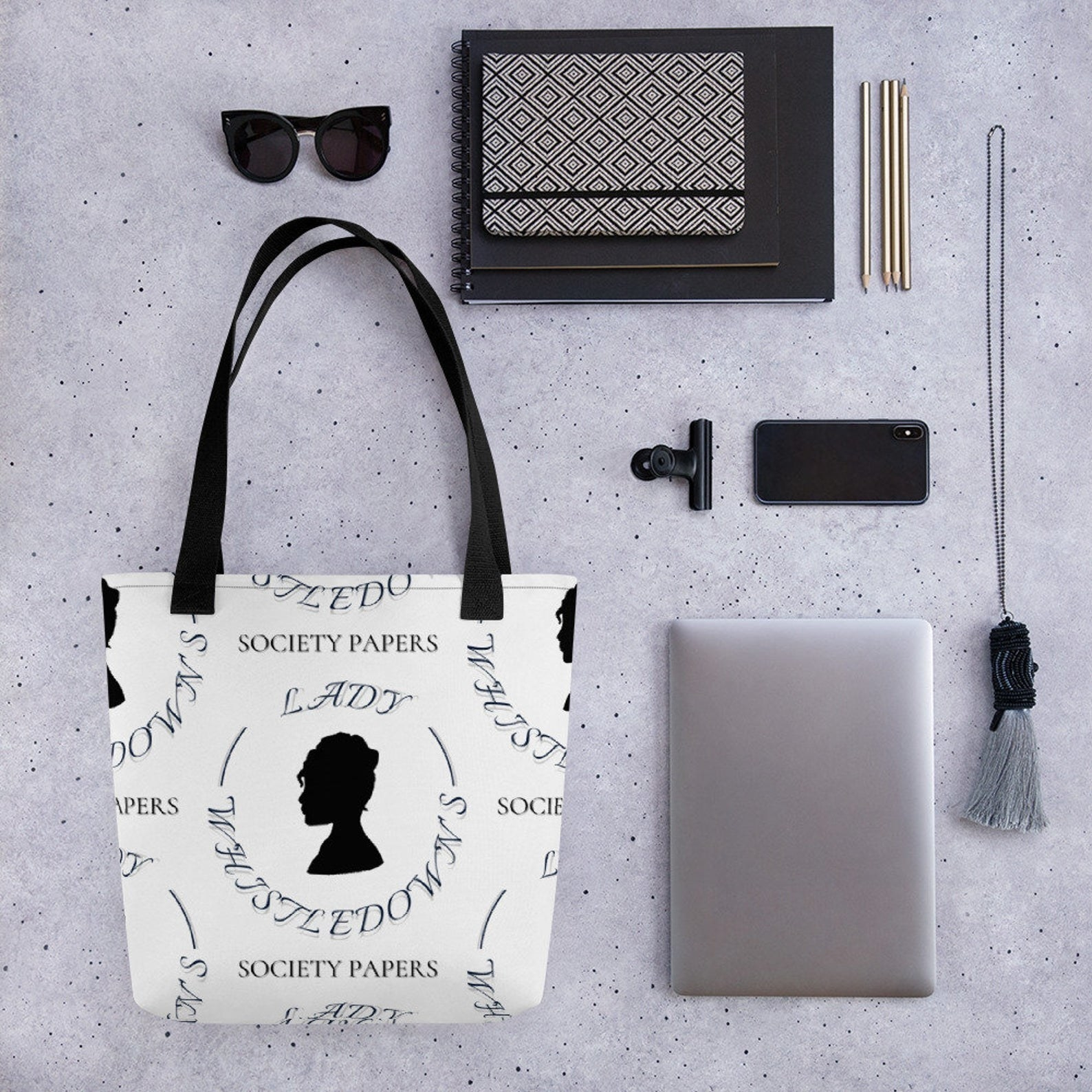 Lady Whistledown tote bag