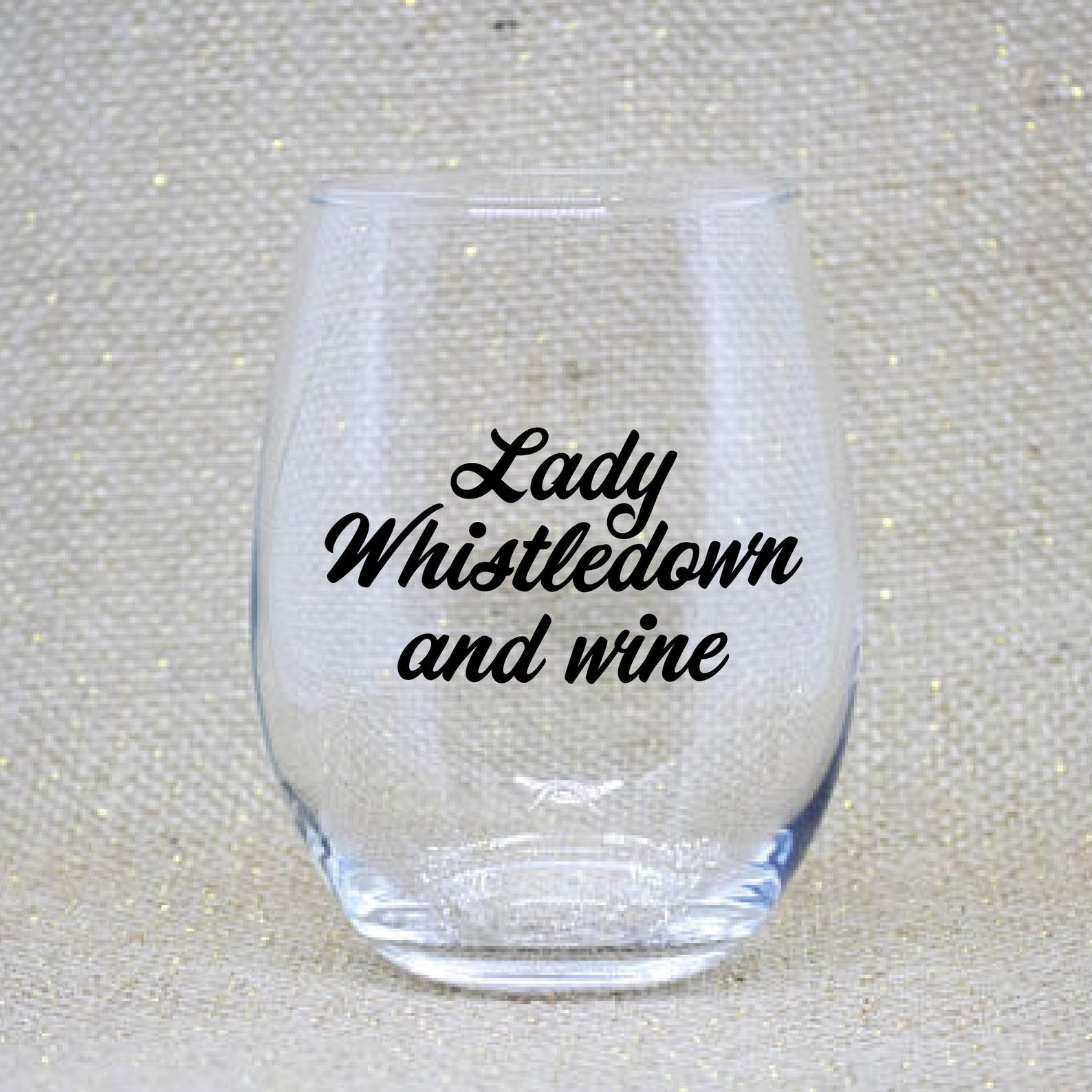 Lady Whistledown and Wine glass