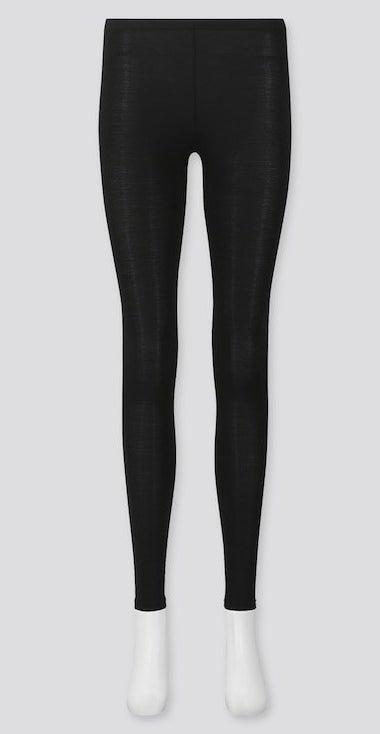 The black leggings