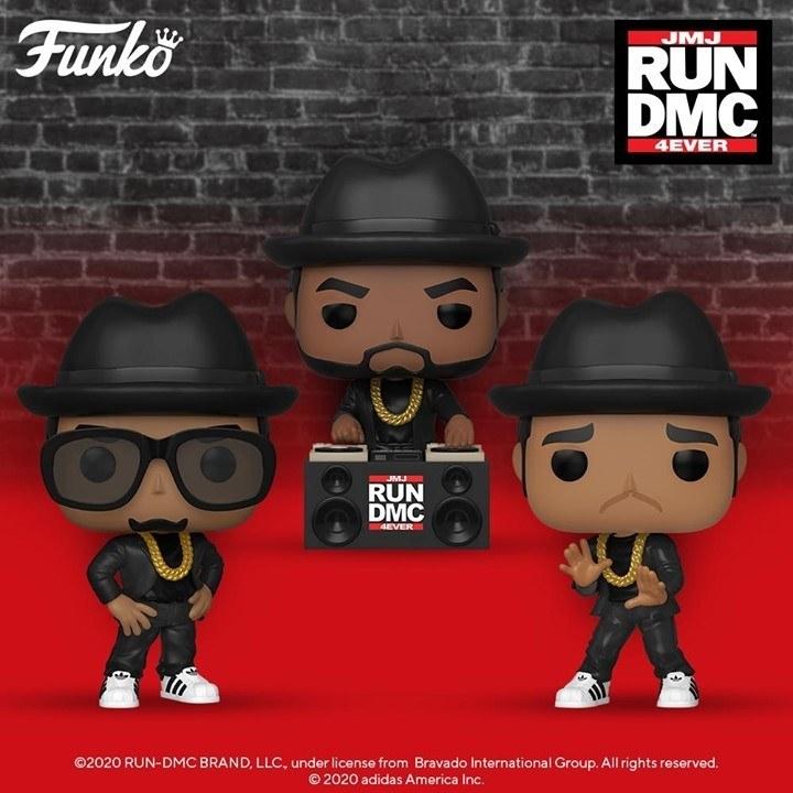 the three run dmc funko figures