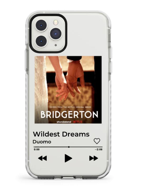 customizable album art phone case