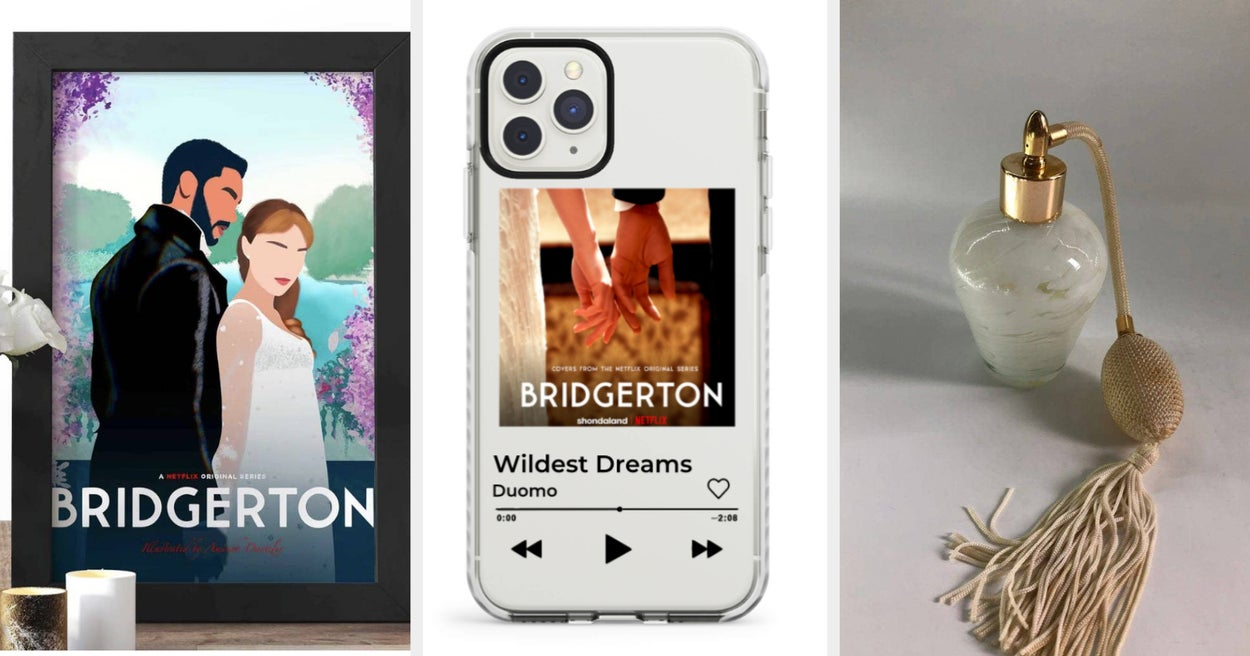 "24 Things You Absolutely Need If You're Obsessed With ""Bridgerton"" On Netflix"
