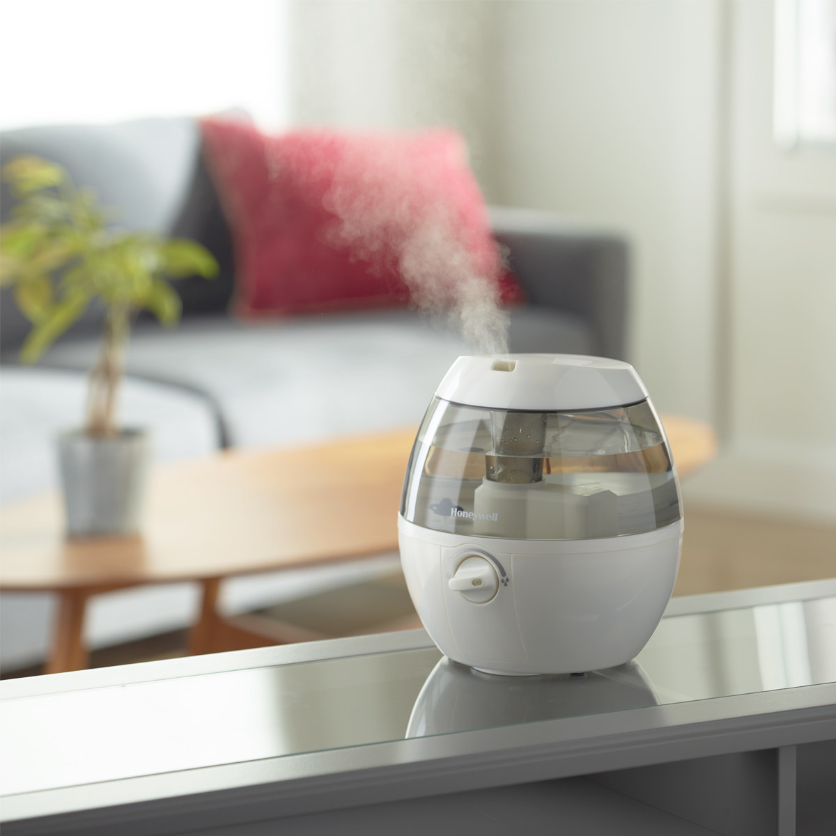 the humidifier in white