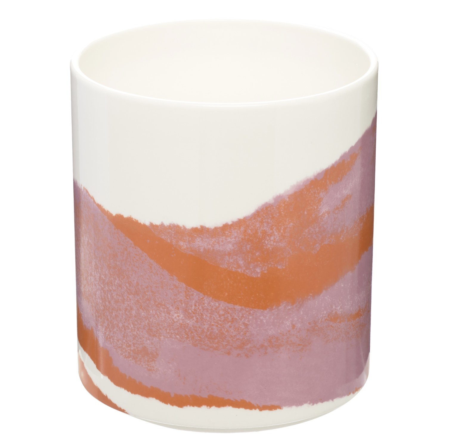The pink and orange holder