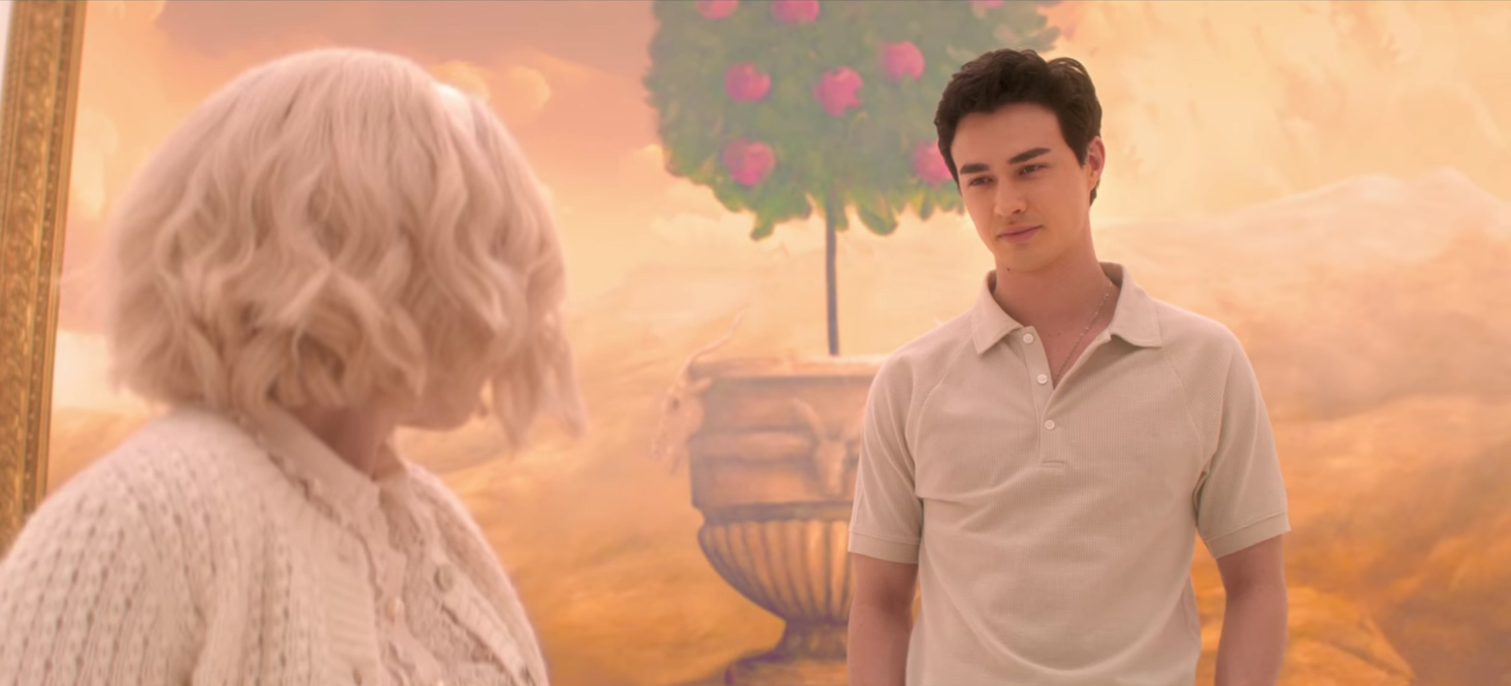 Nick and Sabrina in the sweet hereafter