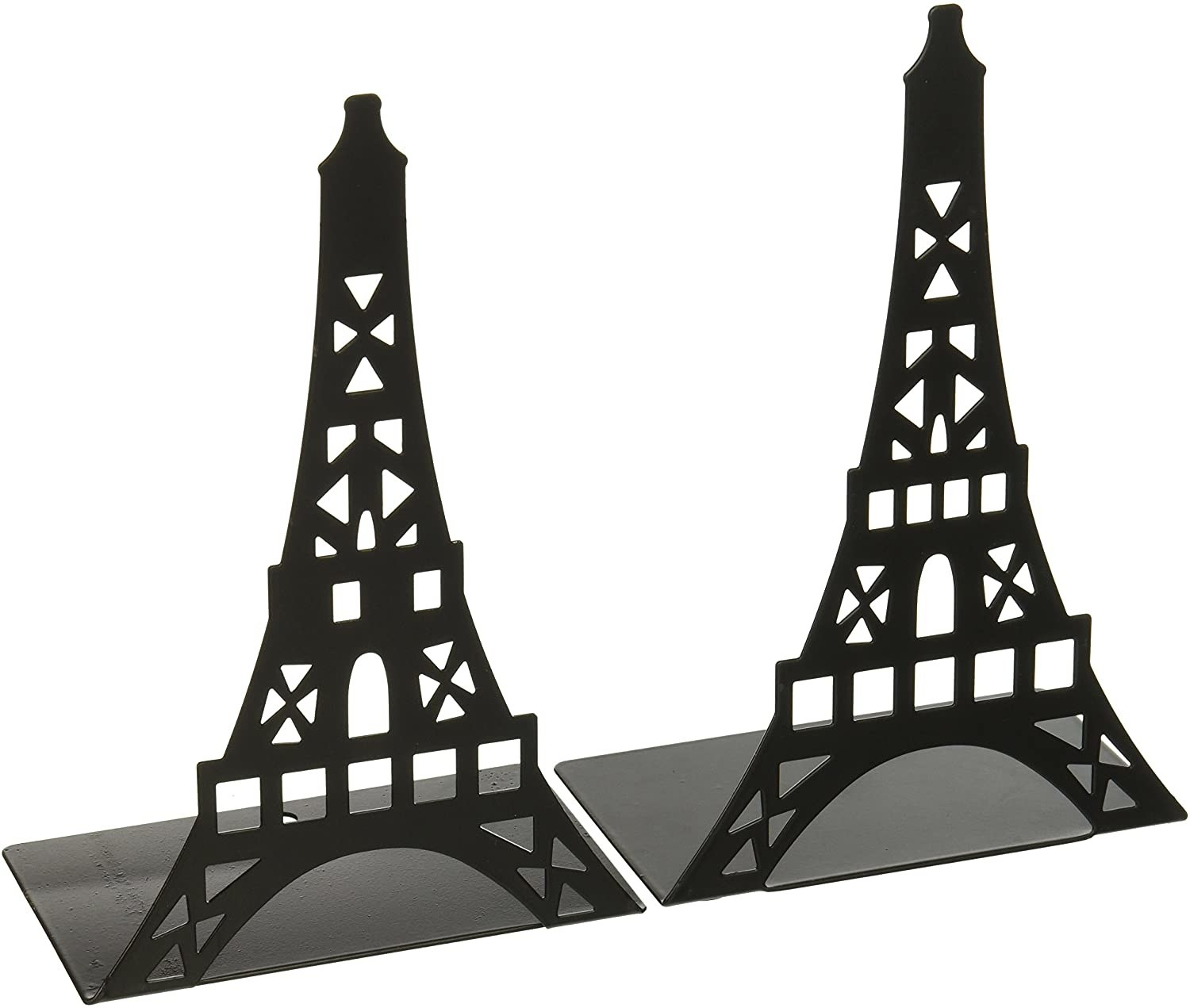 a pair of fasmov eiffel tower bookends