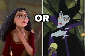 mother gothel or maleficent