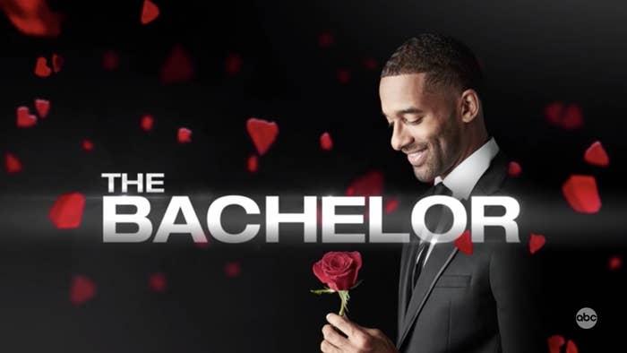 Promo shot of Matt James as The Bachelor