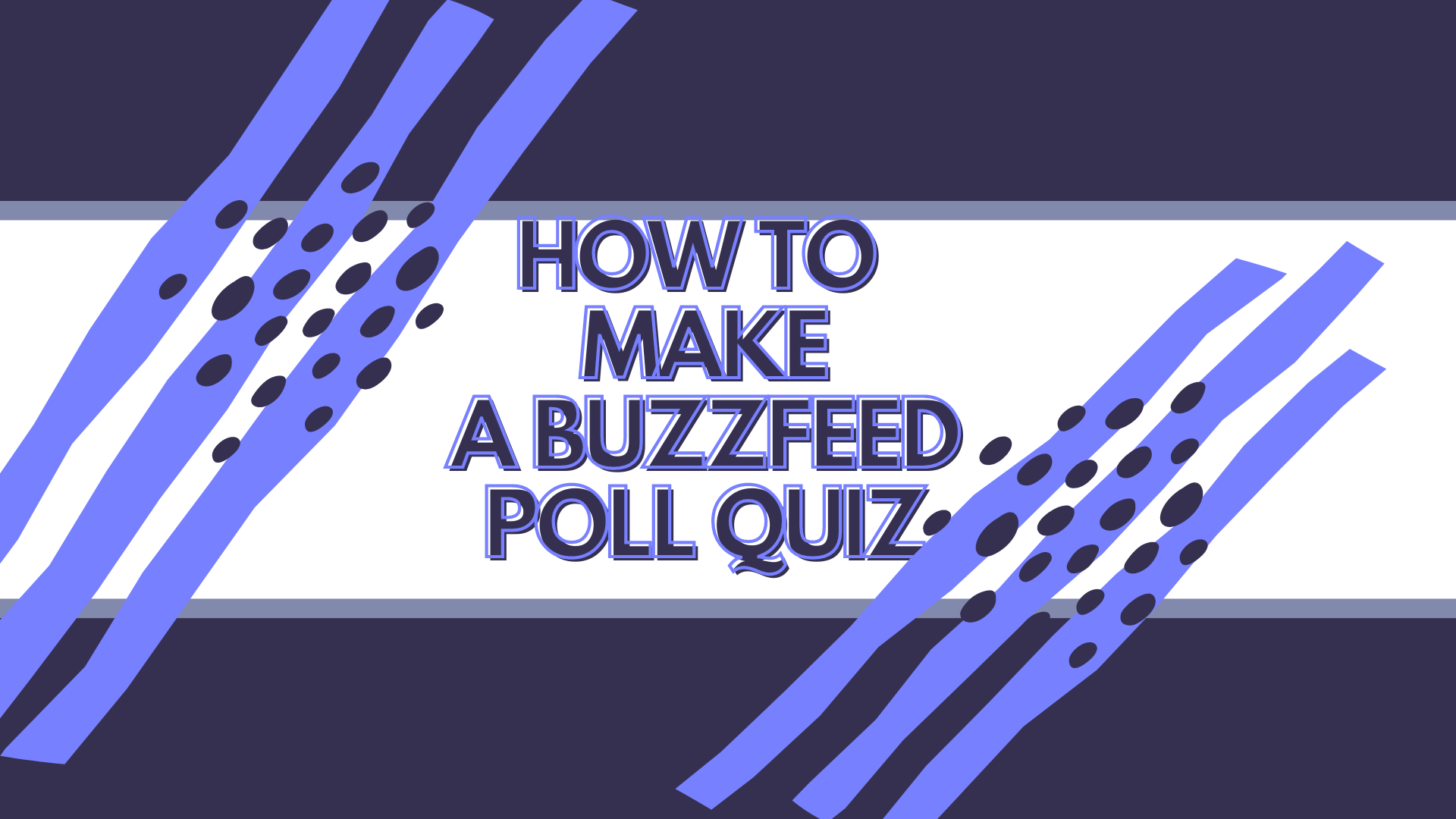 how to make a buzzfeed poll quiz