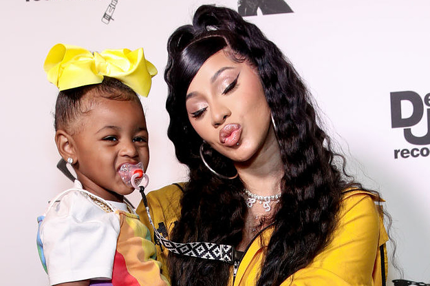 Cardi B Was Called A Hypocrite For Not Letting Her Daughter Listen To