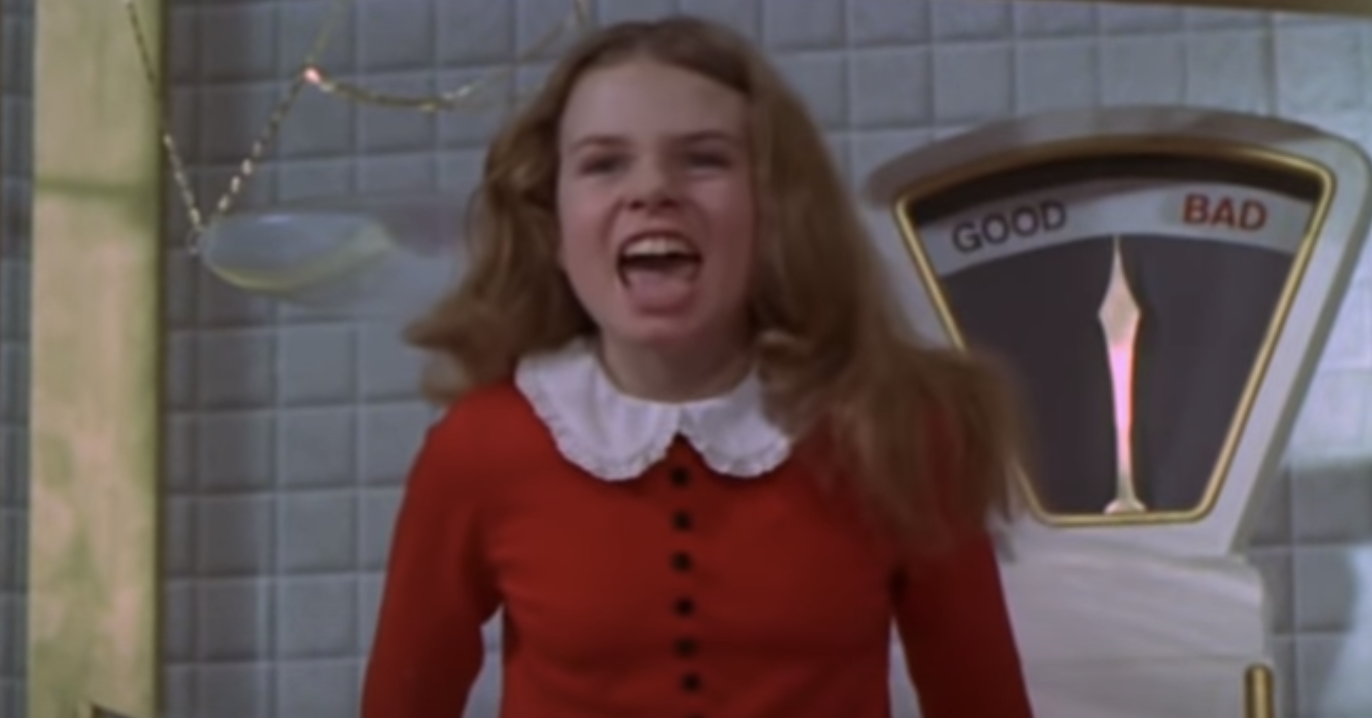 Veruca singing obnoxiously