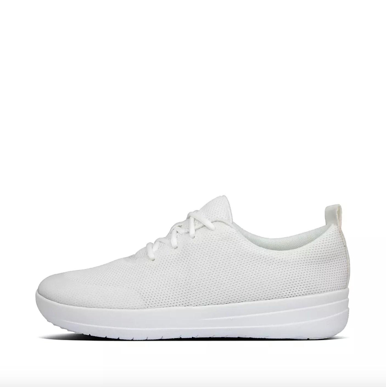 the mesh sneaker in urban white
