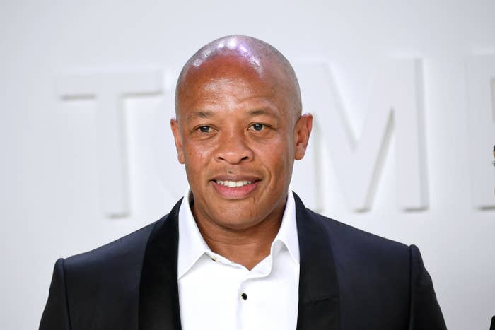 Dr. Dre attends the Tom Ford AW20 Show in February