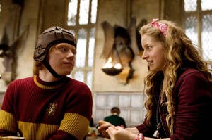 HARRY POTTER AND THE HALF-BLOOD PRINCE, from left: Rupert Grint, Jessie Cave, 2009