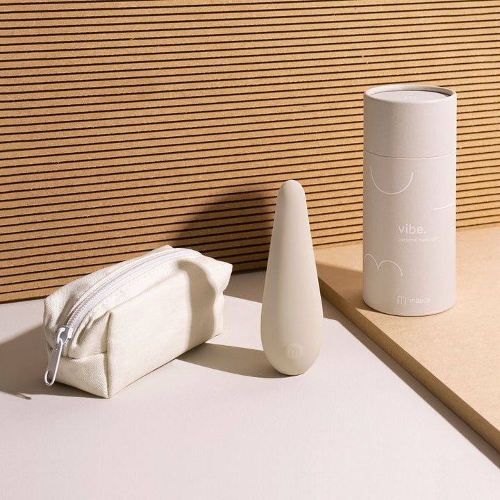 Same vibe next to white pouch and circular box