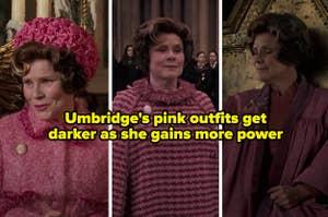 "Professor Umbridge in ""Harry Potter and the Half-Blood Prince"""
