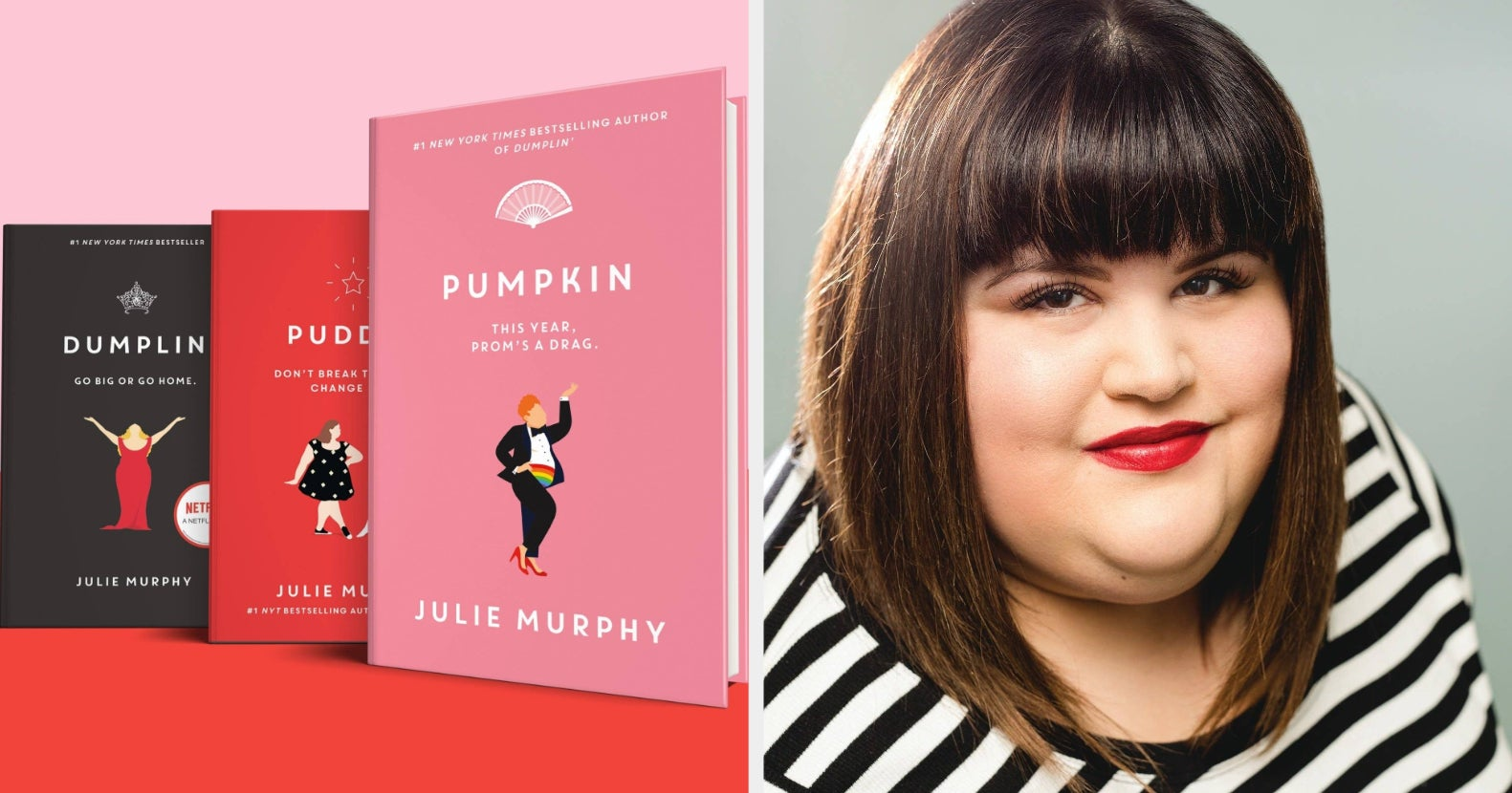 Julie Murphy Is About To Take On 2021 One Book At A Time