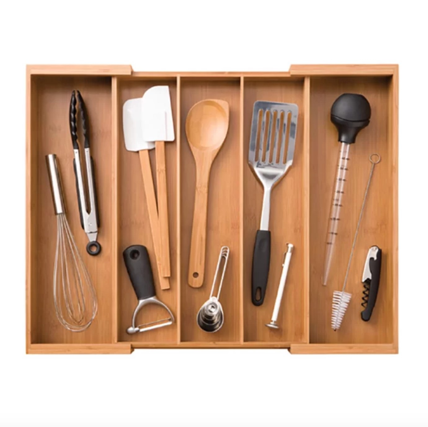 The drawer organizer