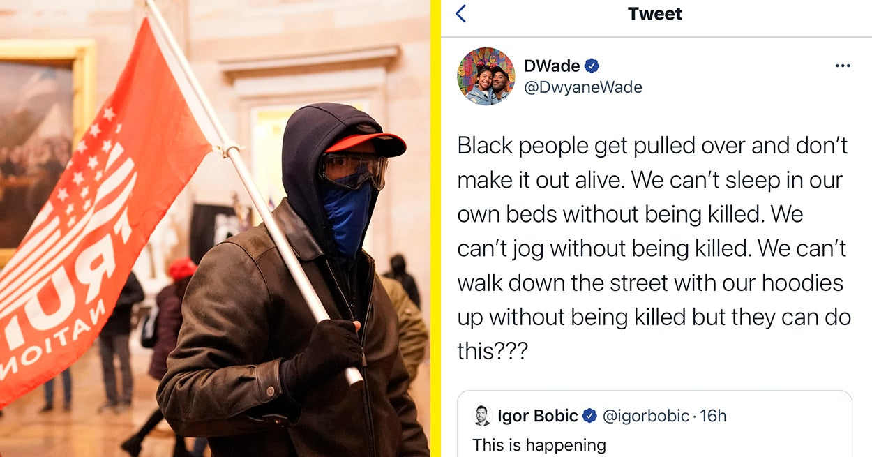 Celebs Are Expressing Outrage Over The Difference In Police Response To The Capitol Riots And Black Lives Matter Protests