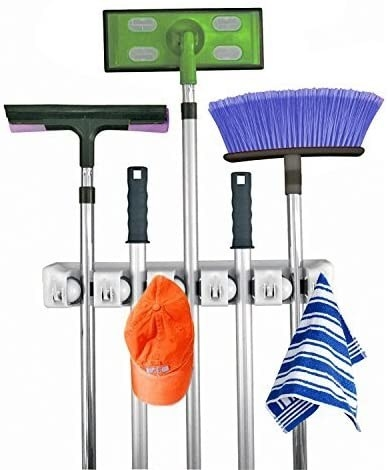 The mop and broom holder