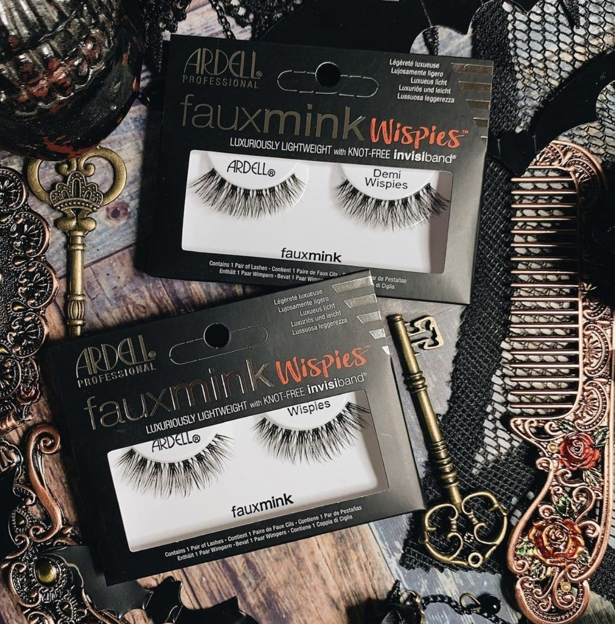 Ardell Professional fauxmink wispies and demi wispies