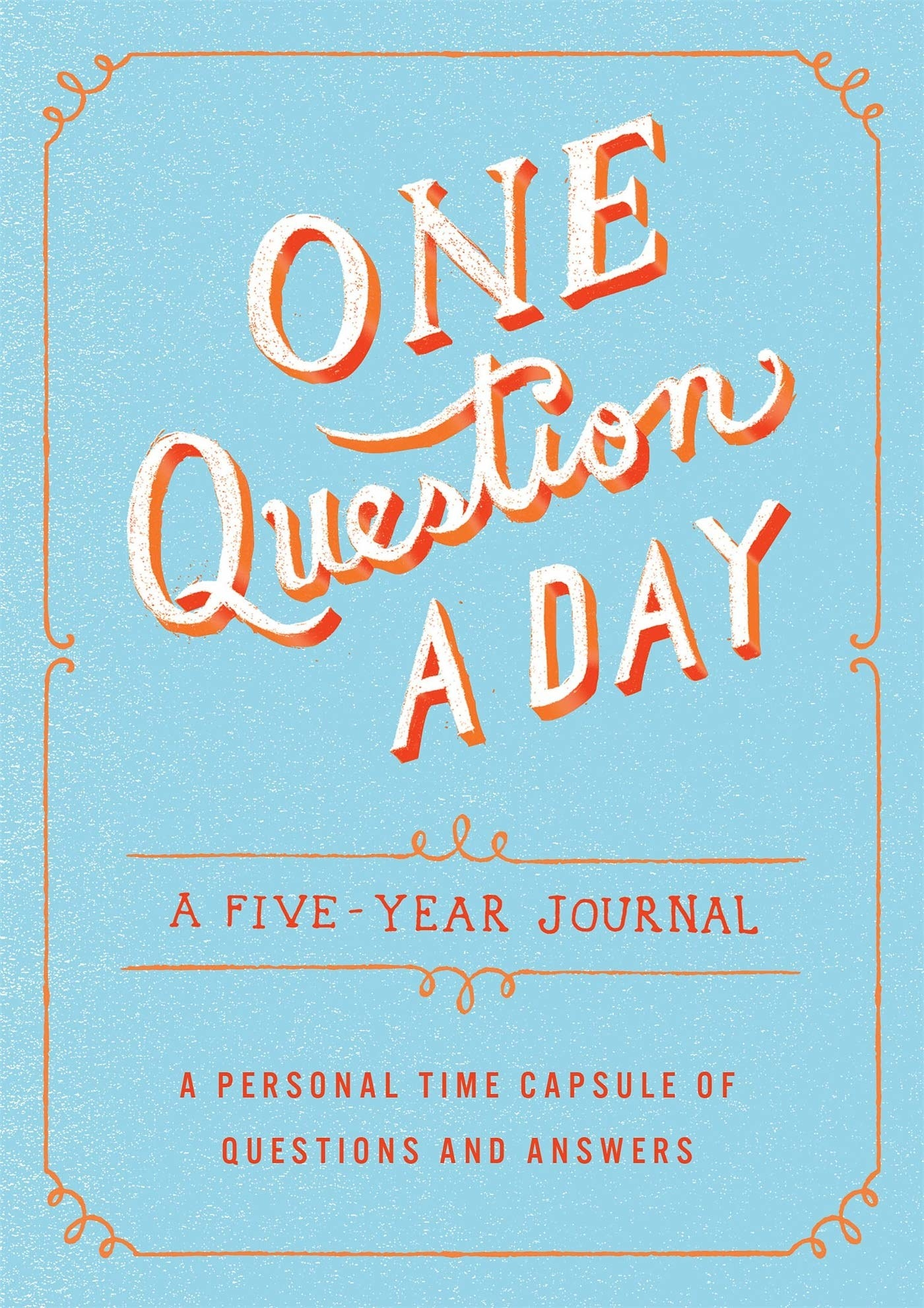 Cover of the one question a day journal