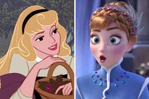 Princess Aurora and Princess Anna