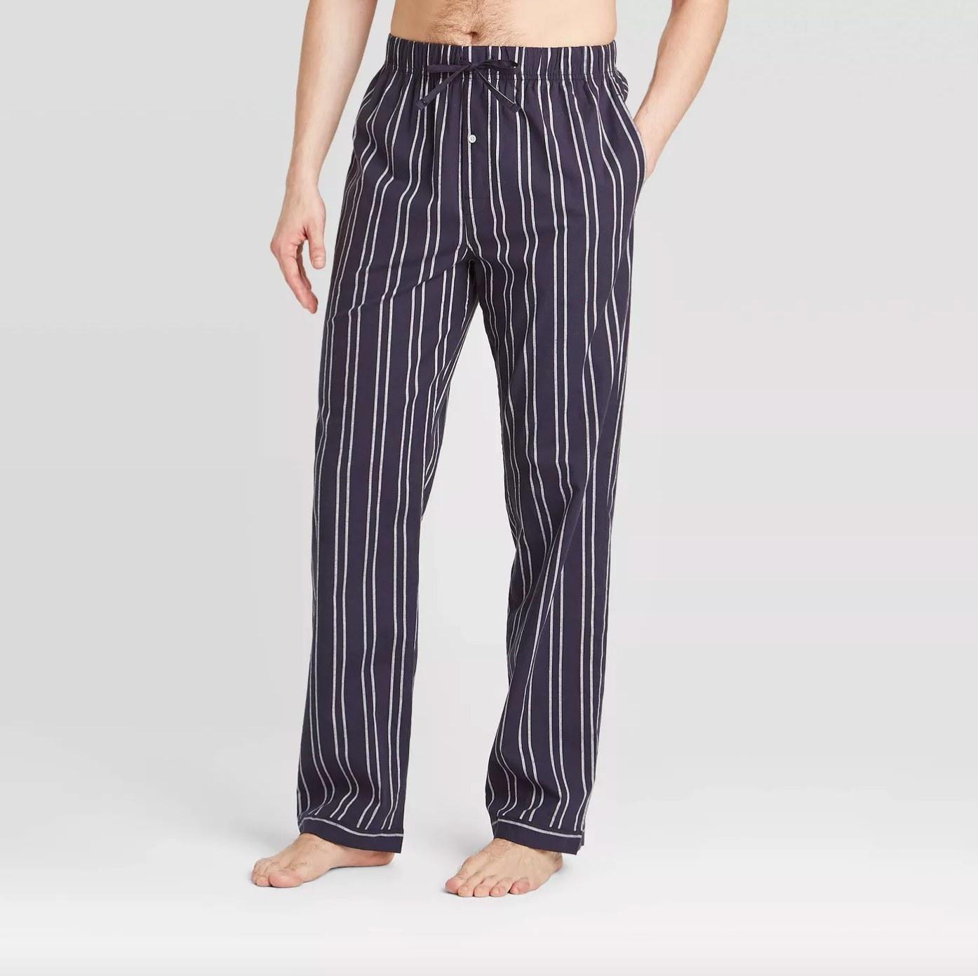 The pajama pants in poplin