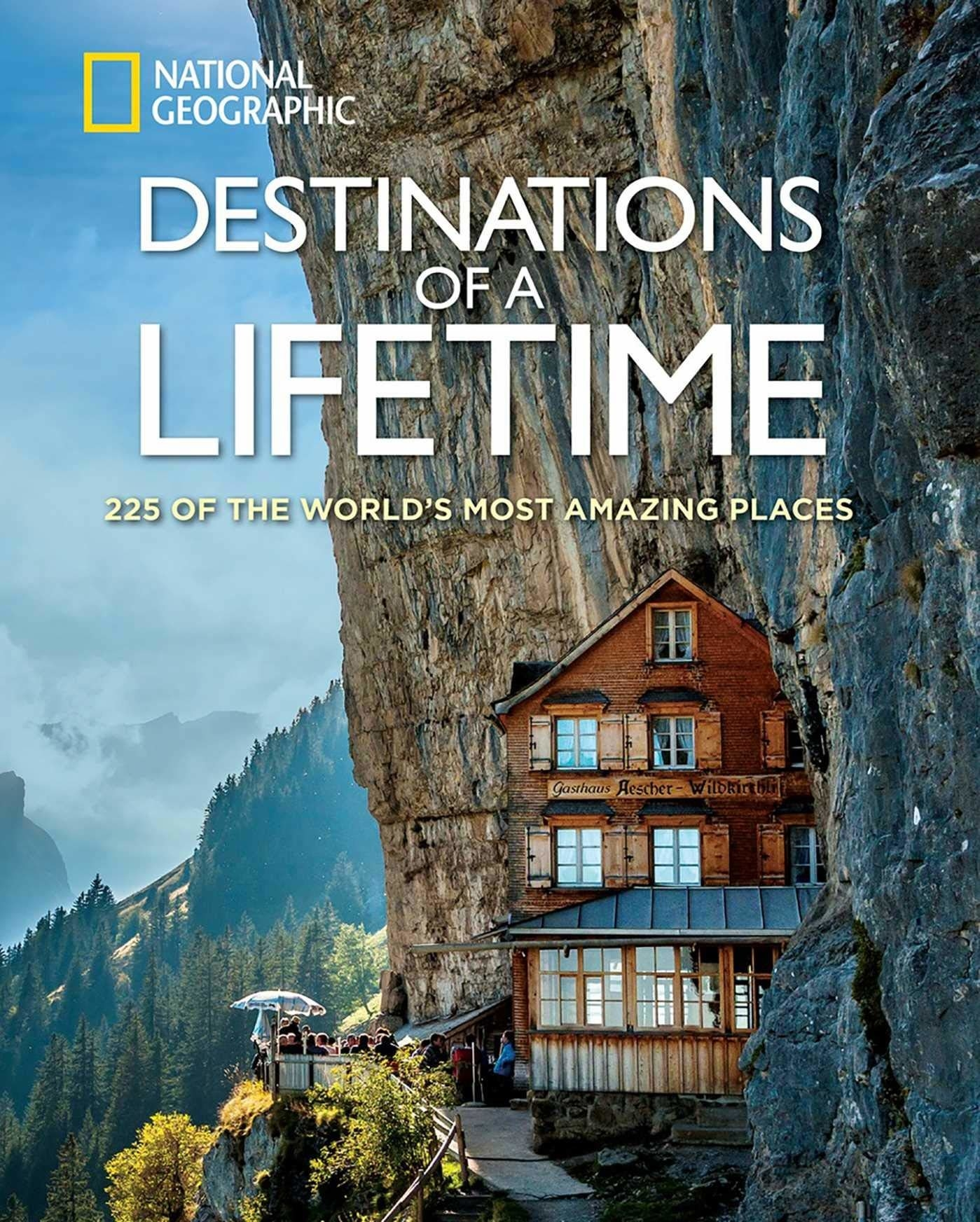 cover of the book that says 225 of the world's most amazing places