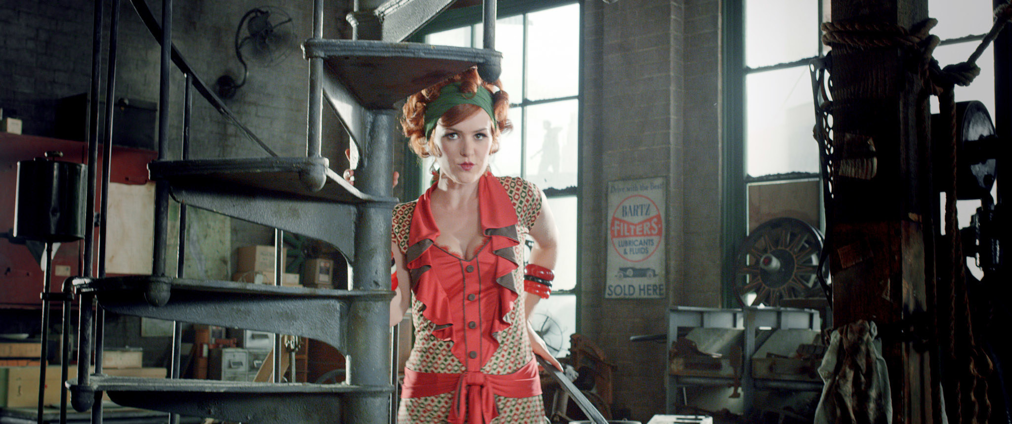 Isla Fisher as Myrtle in the 2013 Great Gatsby