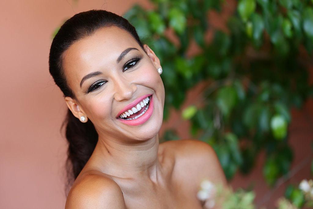 Naya smiling at a Hollywood event
