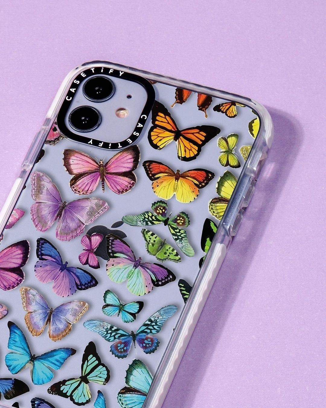 colorful butterfly phone case