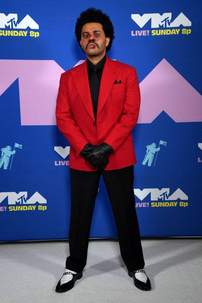 The Weeknd at the MTV VMAs