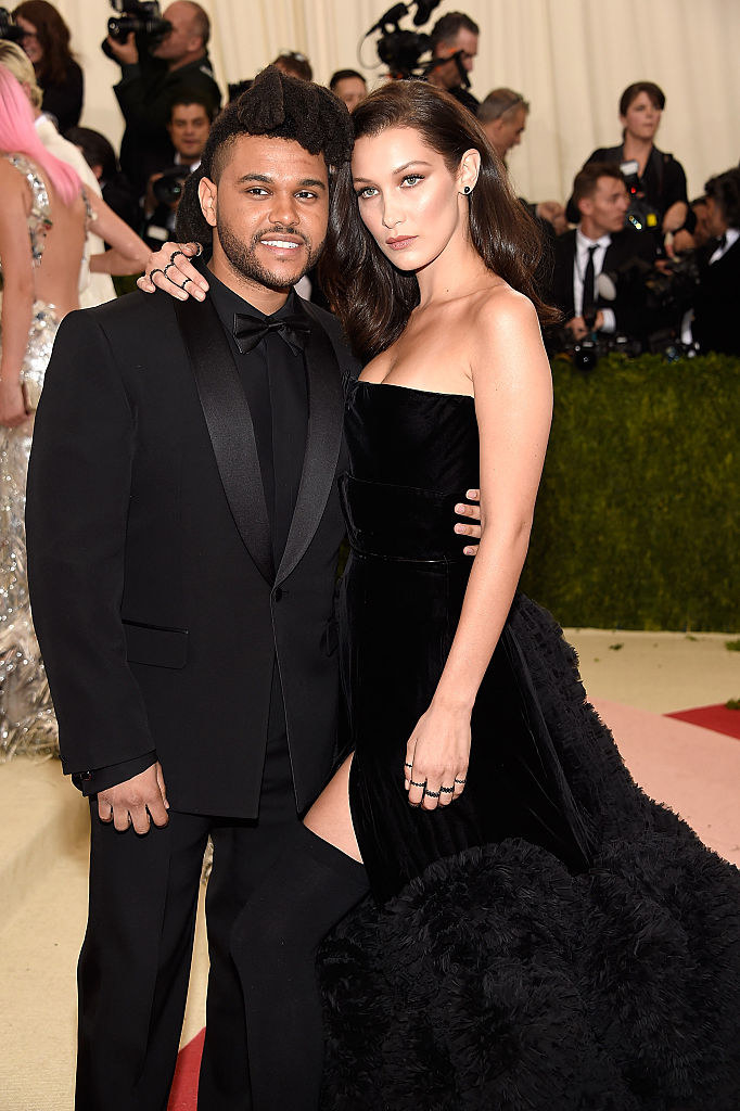 The Weeknd and Bella Hadid at the Met Gala