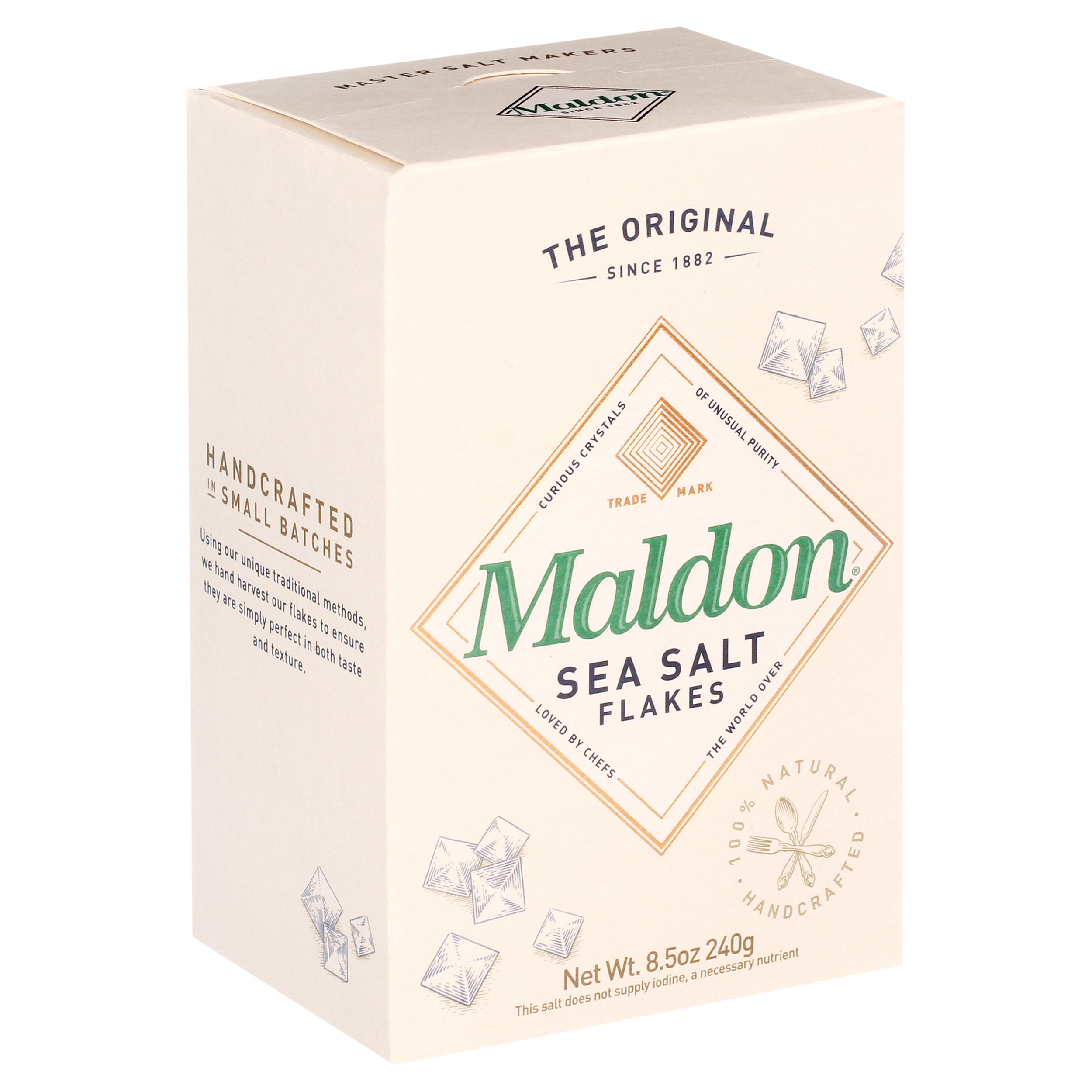 package of maldon sea salt flakes
