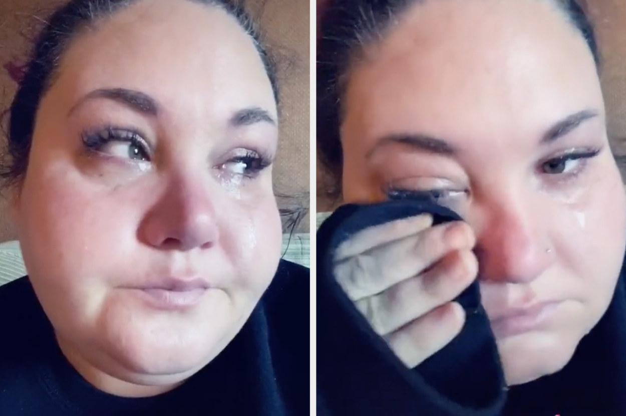 Savanna crying