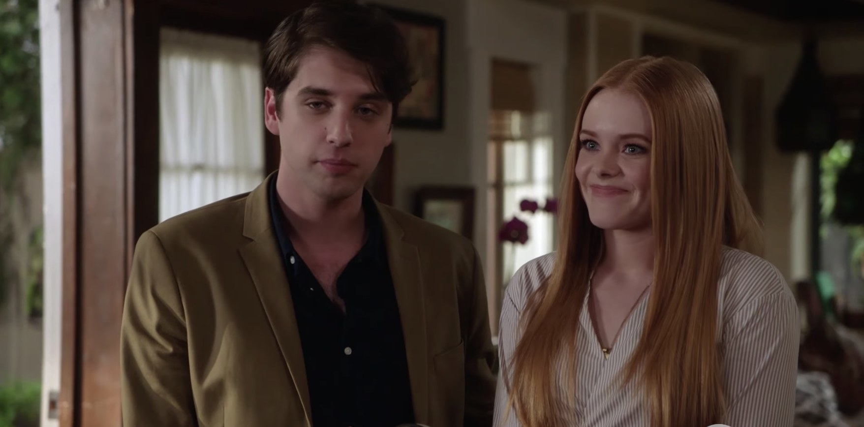 Eliza and Brandon in The Fosters