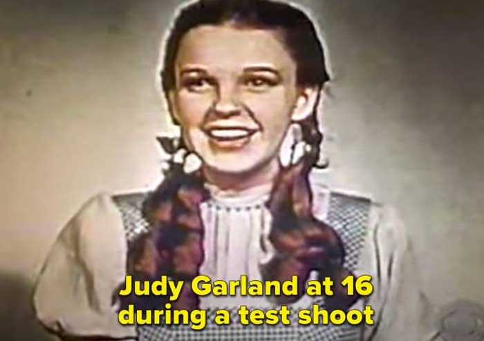 A test shoot of Judy Garland